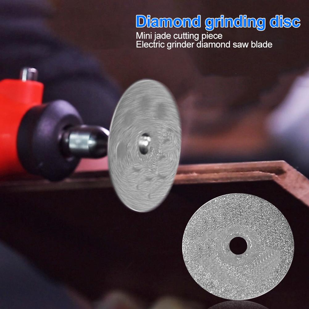 Portable Jadeite Cutting Blade Electro-grinding Diamond Saw Blade Rotary Tool Suitable For Cutting Hard Things Such As Plastic
