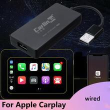 Carlinkit провода CarPlay Ключ адаптер для Android/IOS плеер Авто подключения адаптер навигации