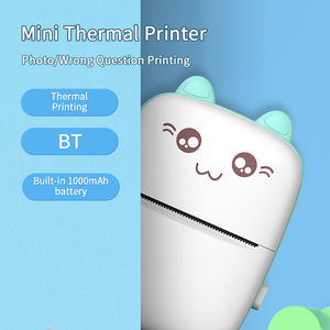 Image 3 - Portable Mini Thermal Printer Wirelessly BT 203dpi Photo Label Memo Wrong Question Printing with USB Cable imprimante portable