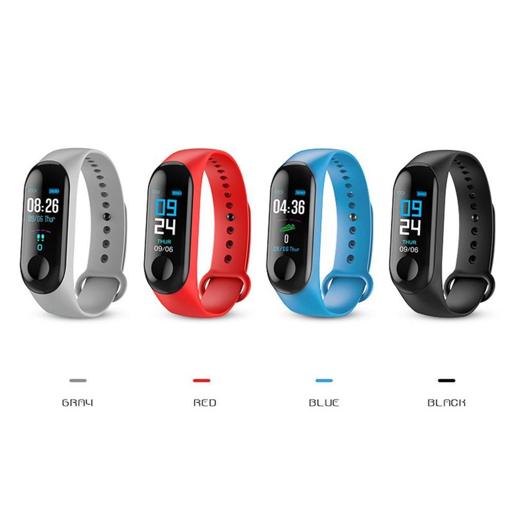 M3X grand écran tactile Bracelet intelligent IP68 étanche sommeil sain surveillance USB Charge directe montre intelligente