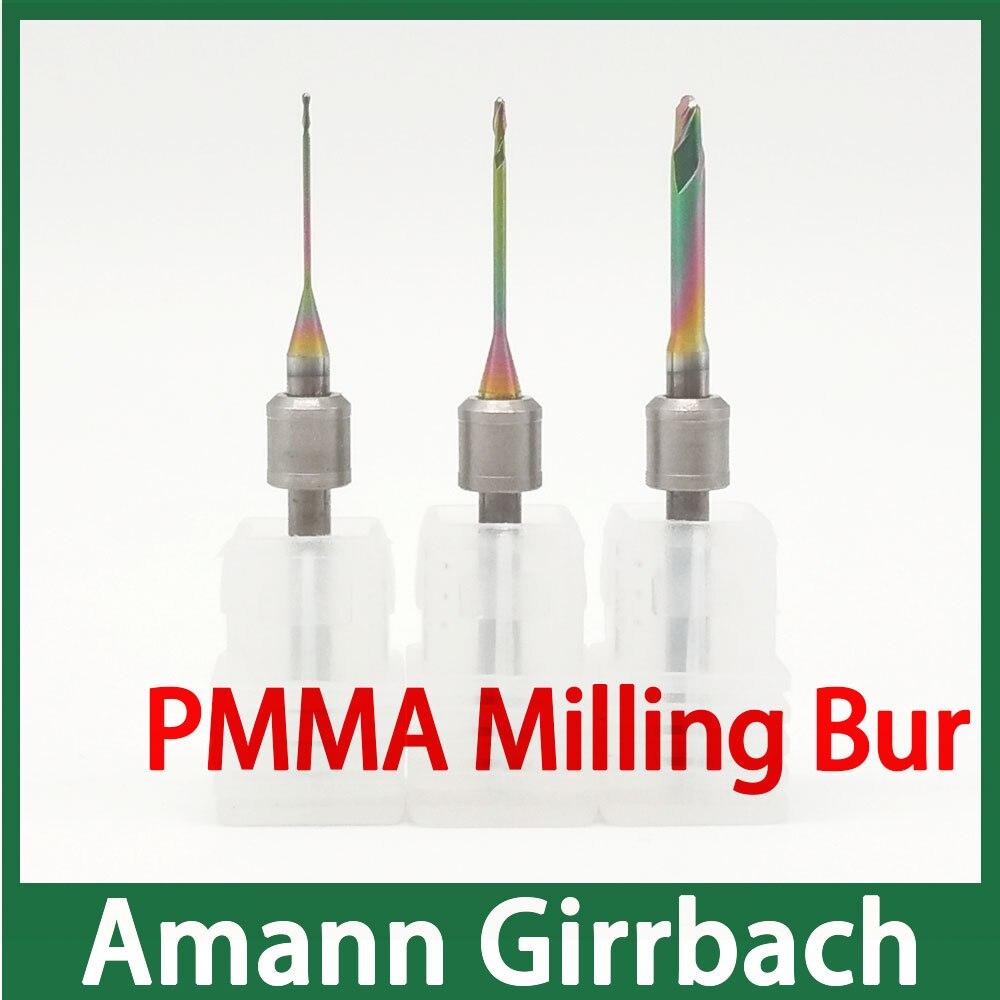 amann girrbach moagem cadcam bur especial para moinho de pmma e material peek