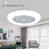 LED Modern Ceiling Light Fan 80W C006 AC220V Three Speed Fan Lamp Indoor Lighting Ceiling Fan With Remote Control lighting fan