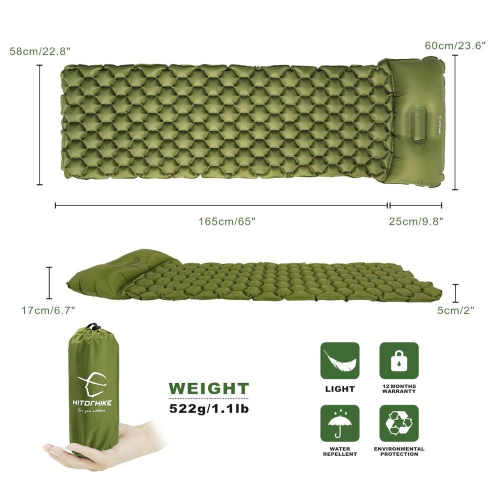 Outdoor Inflatable Sleeping Bag Mattress 2