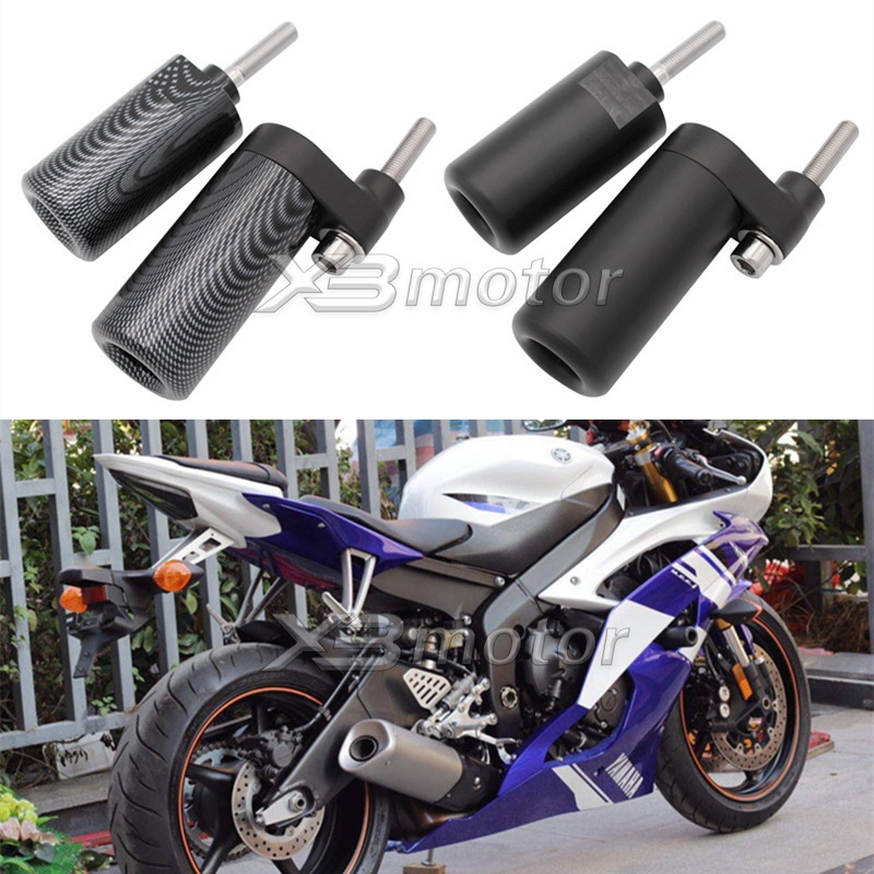 Frame Slider Crash Protector Compatible with 1999-2002 Yamaha Yzf R6 Yzfr6 Carbon HTTMT MT219-009