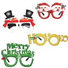 Хит, рождественские украшения для дома, новогодние очки, повязка на голову, фоторамка, реквизит для детей, рождественские подарки, реквизит для фото, Navidad
