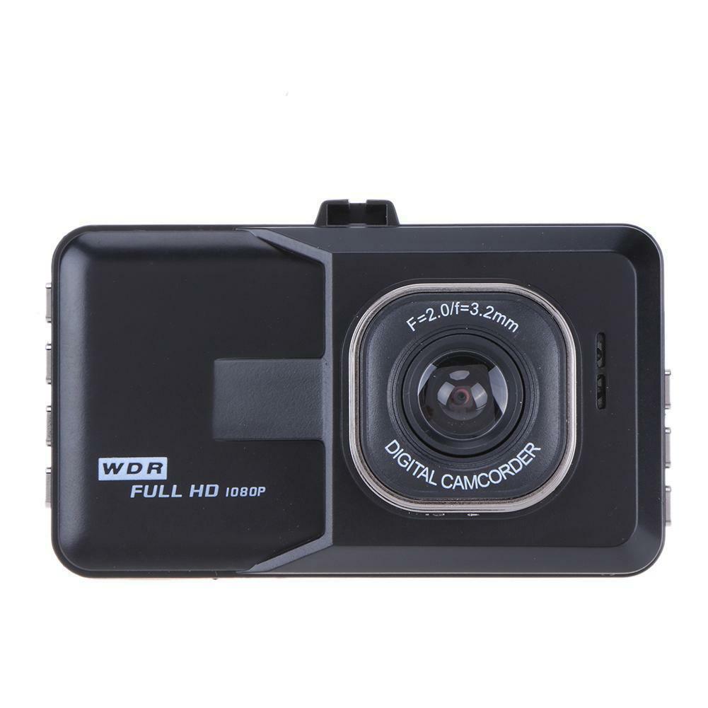 3-inch Full Hd 1080p Car Driver Recorder Vehicle Camera G Sensor With Dashcam Dvr Night Detection Motion Vision Edr T2Q9