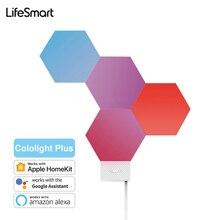 LifeSmart Cololight Plus LED Tổ Ong Nhẹ Tấm 16 Triệu RGB Màu Sắc DIY Lượng Tử Ánh Sáng Cho Apple HomeKit Google Alexa