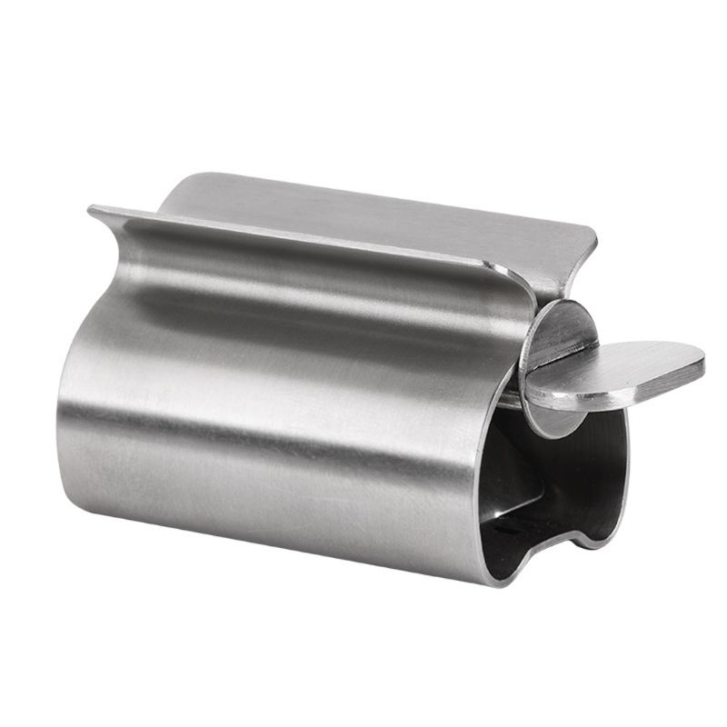 Stainless Steel Rolling Tube Toothpaste Squeezer Dispensers Wringer Easy Squeeze