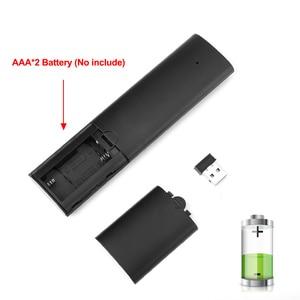 Image 5 - Q5 Control remoto por voz Fly Air Mouse 2,4 GHz, micrófono inalámbrico de Google, mando a distancia con giroscopio para Android TV Box T9/X96 mini