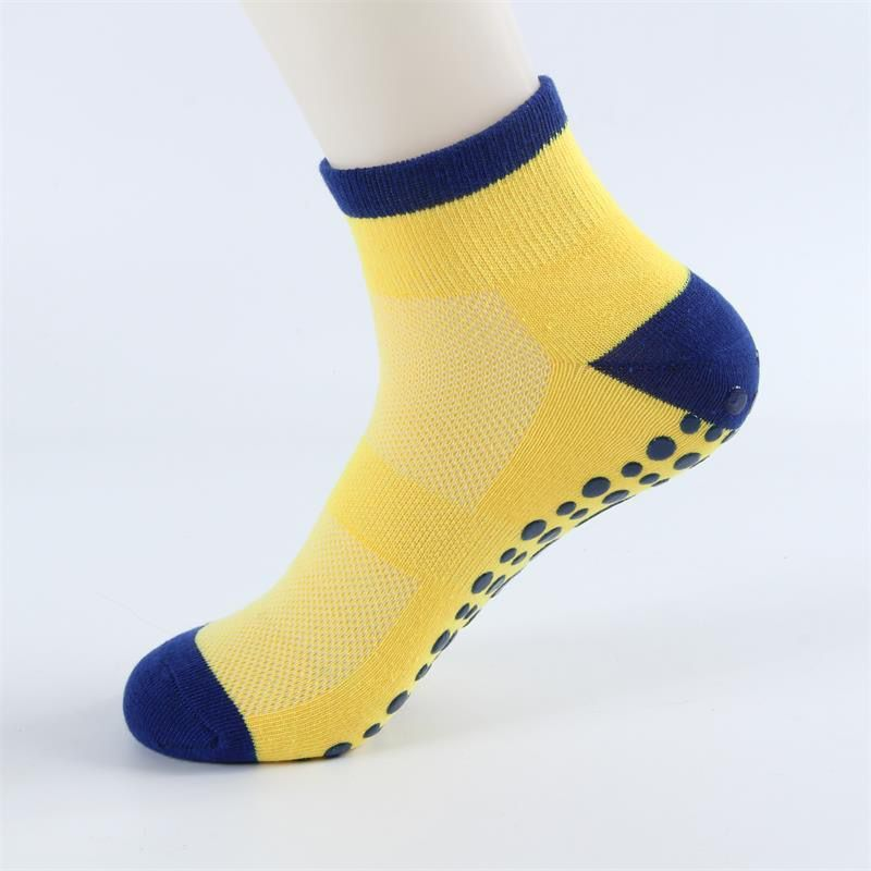 Autumn/Winter/Spring/Summer Thin And Breathable Non-slip Floor Socks Boy and Girl Towel Socks Home Socks Cotton Candy Color 4