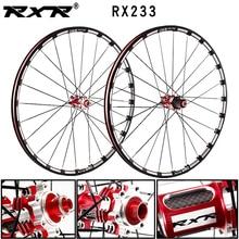 RXR горный велосипед внедорожный MTB Углеродные велосипедные колеса 26 27,5 29 дюймов RX233 дисковый тормоз 5 подшипников 7-11S сквозная ось/QR Велосипе...