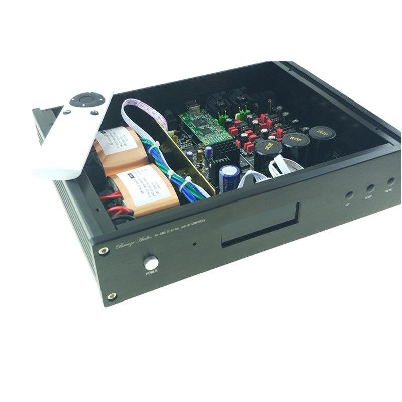 2019 ES9038 ES9038PRO USB DAC DSD Decoder digitale audio analoog converter HIFI DAC Audio Amanero of XMOS XU208 VOOR amp-in Versterker van Consumentenelektronica op  Groep 1