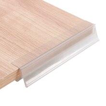 Banner 20cm Gripper Memo-Clip-Strip Info-Sign Edge-Mount Price-Tag-Holder Glass-Shelf