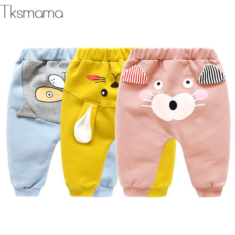 Popular Spring Autumn Baby Leggings Baby Boy Cotton Pants Baby Girl Bottoms Children Fashion Trousers