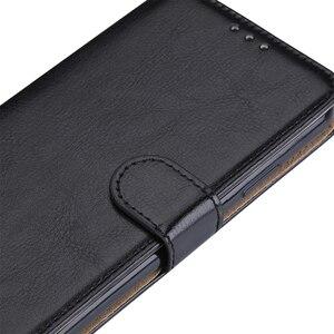 Image 4 - サムスン用デラックスレザーケース,サムスンギャラクシーs4,i9500,i9505,i9515,イブGT i9500用ホルダー,5インチ,ストラップバッグ付き