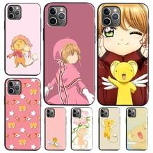 TPU Case Chan Cardcaptor Sakura iPhone Xr Max-Cover for X-Xs 6S 7/8-plus/12-pro/.. Kero