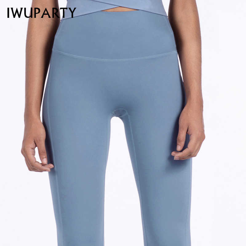 Iwuparty Hoge Taille Stretch Gym Leggings Solid Patchwork Sport Leggings Running Meisjes Slim Fitness Lange Panty Yoga Broek Vrouwen