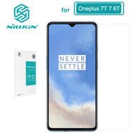 Tempered Glass Oneplus 7T Screen Protector Oneplus 6T One Plus 7 NILLKIN Amazing H Nanometer 9H glass protective film|Phone Screen Protectors| |  -