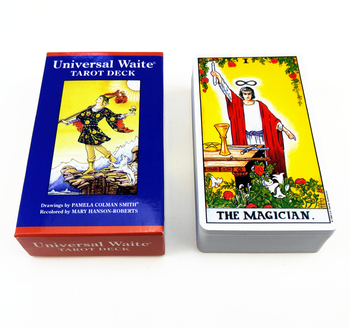 Full English Radiant Rider Wait Tarot Cards Funny oracle Smith Tarot Deck Board Game Cards image