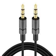 3,5mm Jack Audio Kabel Jack 3,5 Mm Stecker Auf Stecker Audio Aux Kabel Fo Rechen Kopfhörer Lautsprecher Draht Linie aux CordSpeaker