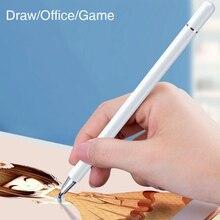 Универсальный телефон настольный емкостный стилус карандаш для iPad Pro с 12.9 10.5 11 сенсорный экран ручка планшет Huawei металла