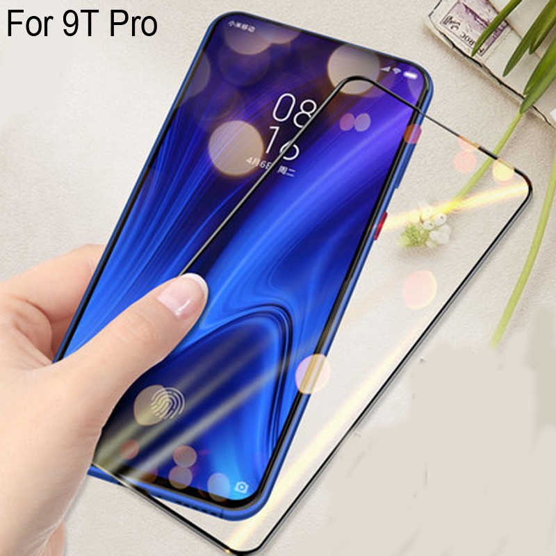2PCS Full Curved Screen Protector For Xiaomi Mi 9T Pro Full Cover Tempered Glass For Xiaomi Mi 9 T Pro Protective Flim 9tpro