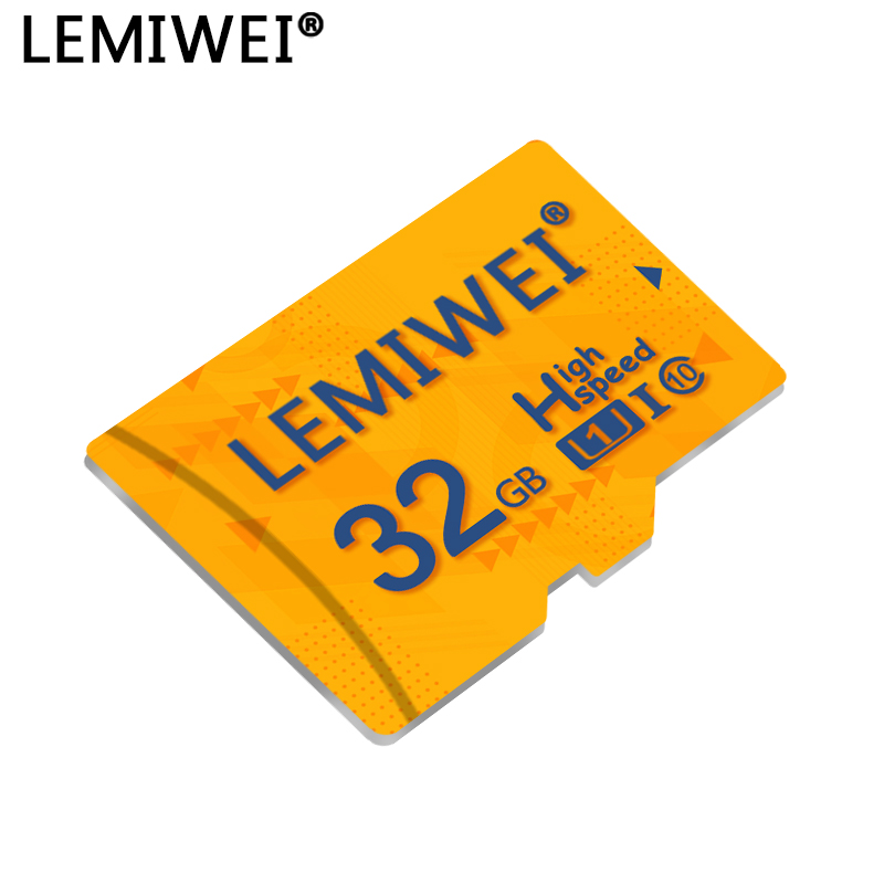 LEMIWEI Memory Card 64GB 32GB U1 UHS-I Micro Sd Card Class10 Flash Card Memory Microsd TF/SD Cards For Smartphone Tablet Pad