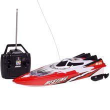 30km/h rc barco brinquedo de corrida alta velocidade baterias recarregáveis para crianças barco cores controle remoto crianças presentes dois natal