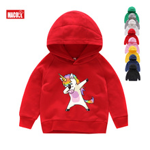 Tops T Shirt Boys Hoodies Girls Sweatshirt Kids Jumper Fall  Clothes Christmas Gift for Pullover 3-14Years