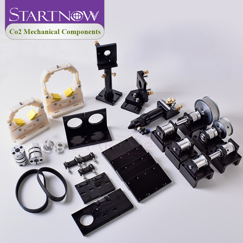 DIY Kit: CO2 Laser Mechanical Components Metal Transmission Hardware Parts Laser Head Set Engraving Cutting Machine Equipment