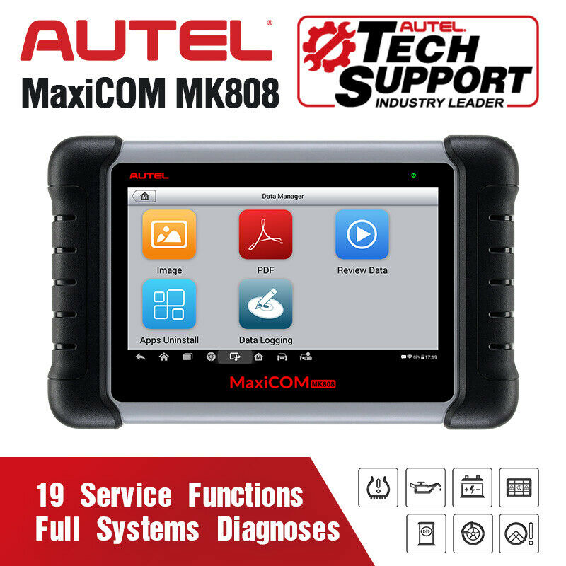 Autel MaxiCOM MK808 MX808 OBD OBDII Diagnostic Tool Key Programmer OBD2 Scanner Auto Code Reader Automotive Tools Tester For Car-in Multimeters & Analyzers from Automobiles & Motorcycles on