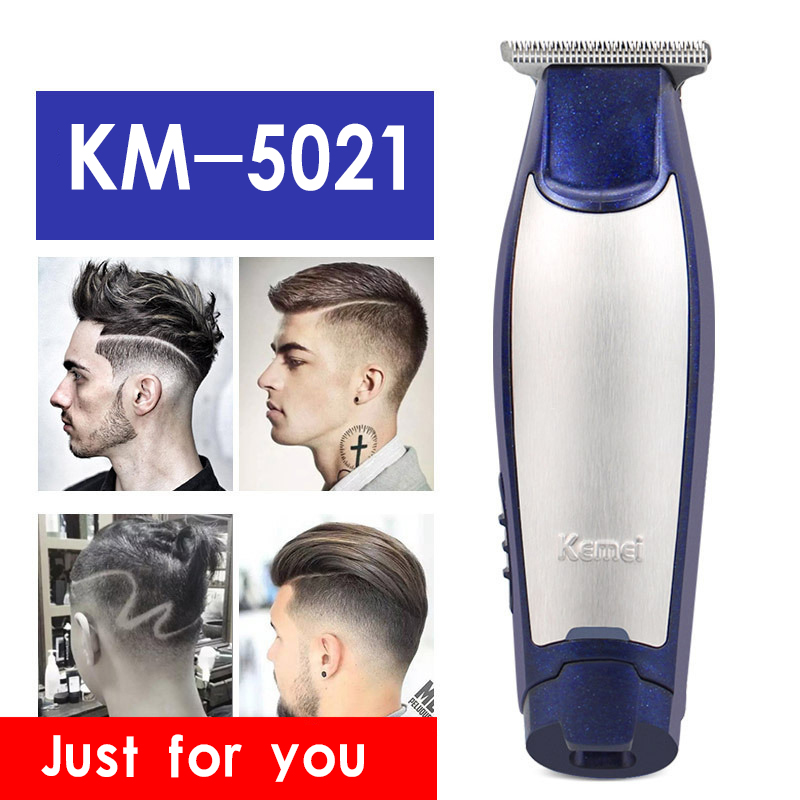 Kemei 3 In 1 Professional Hair Clipper Rechargeable 0mm Baldheaded Hair Trimmers Barber Haircut Machine With USB Cable KM-5021