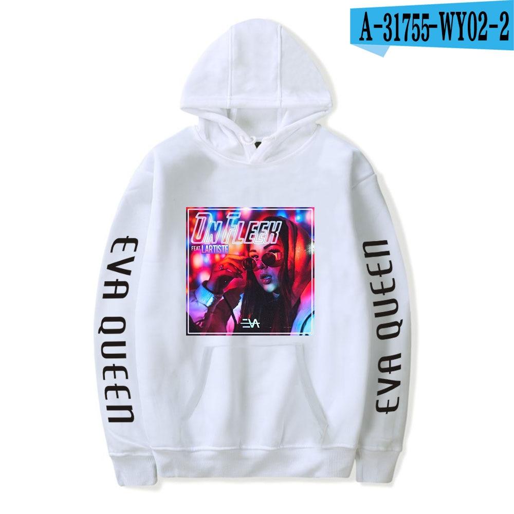 2020 Eva Queen Hoodies Men Casual Streetwear Sweatshirt Sudadera Hombre Eva Queen Hoodie For Men/Women 34