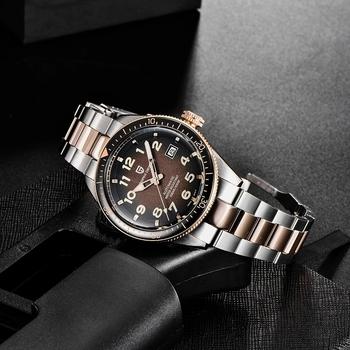 2021 nowy PAGANI DESIGN szafirowe szkło męski zegarek mechaniczny Top marka luksusowe zegarki automatyczne Sport wodoodporny zegarek męski PD-1649 tanie i dobre opinie 10Bar CN (pochodzenie) Składane bezpieczne zapięcie Moda casual Mechaniczna nakręcana wskazówka Samoczynny naciąg