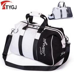 2in1 Golf Abbigliamento e scarpe Borsa con Le Scarpe Strato di Nylon di Grande Capienza del Sacchetto di Abbigliamento Da Golf per Lo Sport Esterno di Viaggi Golf cornici e articoli da esposizione