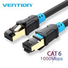 Chính Hãng Vention Cáp Dù CAT6 Che Chắn Dây Xoắn Đôi Ethernet Cáp Mạng Cat 6 RJ45 LAN Cáp Miếng Dán Lan Dây Cho Máy Tính router