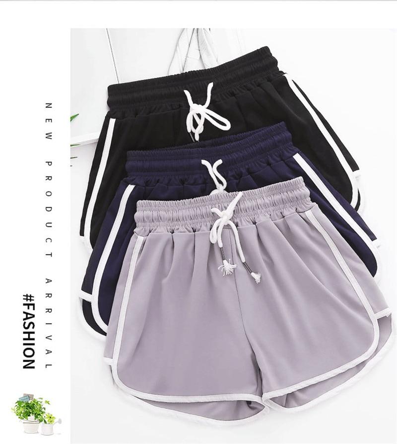 Women Runing Shorts Fitness Clothes Women Shorts Cool Ladies Loose Running Shorts Fitness Jogging Shorts