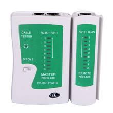 Тест сетевого кабеля локальной сети тестер rj45 rj 11 cat5 utp