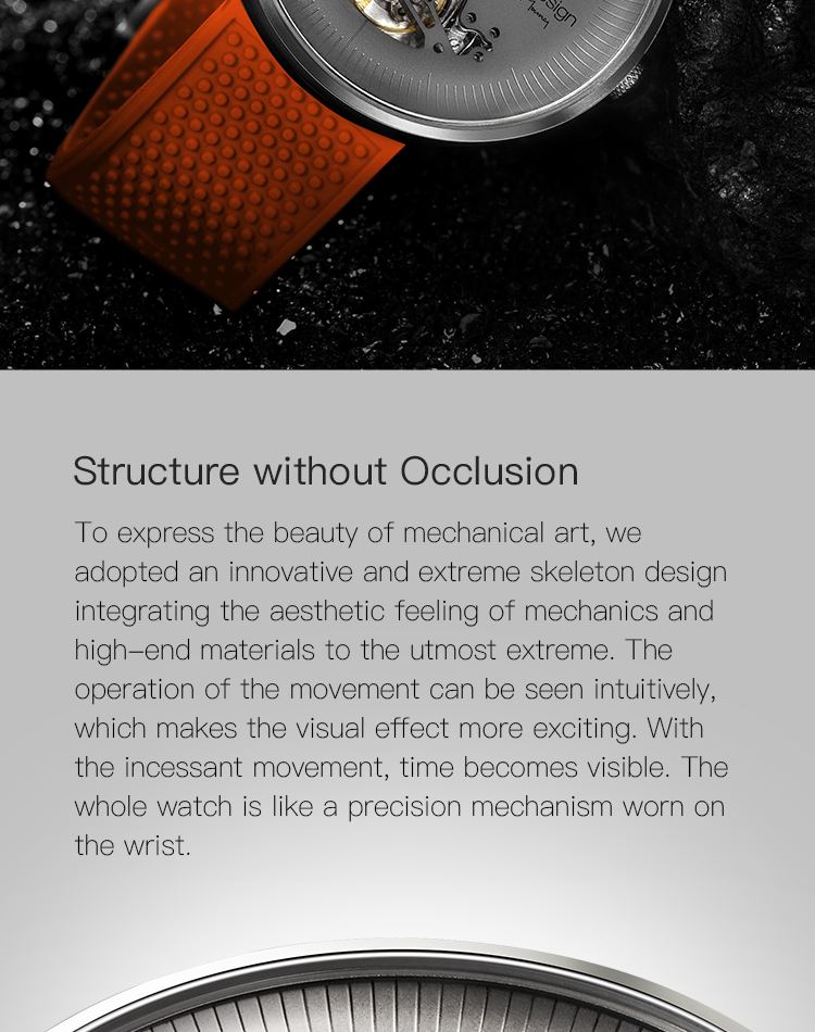 Hd2f73b69f3094900b5457a537b826a59J CIGA DSIGN MY Series Titanium Dial Watch Automatic Mechanical