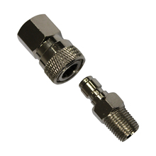 2sets/Lot  Quick Disconnect Quick Fitting  Coupling Male And Female Set
