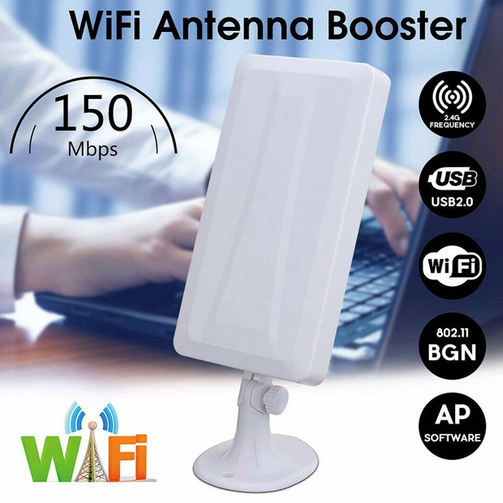Long Range WiFi Extender Wireless Outdoor Router Repeater WLAN Antenna Signal Booster VH99