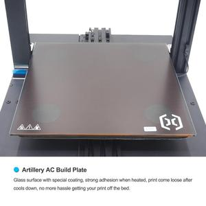 Image 5 - 3D Printer sidewinder x1 SW X1 Desktop level  3d pro size Support USB and TF card Touch screen artillery 3d