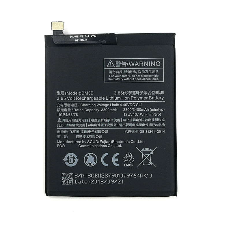 100% Original 3300mAh BM3B Battery For Xiaomi Mi Mix 2S Mobile Phone In Stock Latest Production High Quality Battery