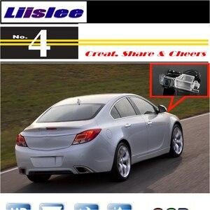 Cámara de coche Liislee para Buick Regal 2009 ~ 2014 cámara trasera de alta calidad para PAL o NTSC a sintonización CCD RCA a prueba de agua