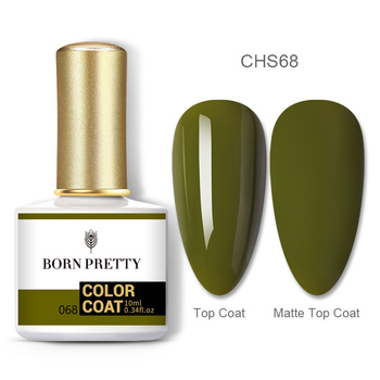 BORN PRETTY Nail Gel 120Colors 10ml Gel Nail Polish Soak Off UV LED Gel Varnish Holographics Shining Nagel Kunst Gellack 131