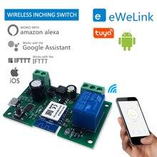 tuya smart home Graffiti Single-way Point Switch Wifi Relay Wireless Module Timing Remote Intelligent Contro