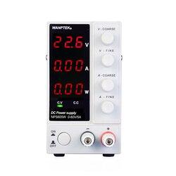 Регулируемый источник питания NPS605W, постоянный ток, 60 В/5A, высокоточный цифровой дисплей, лабораторный импульсный источник питания
