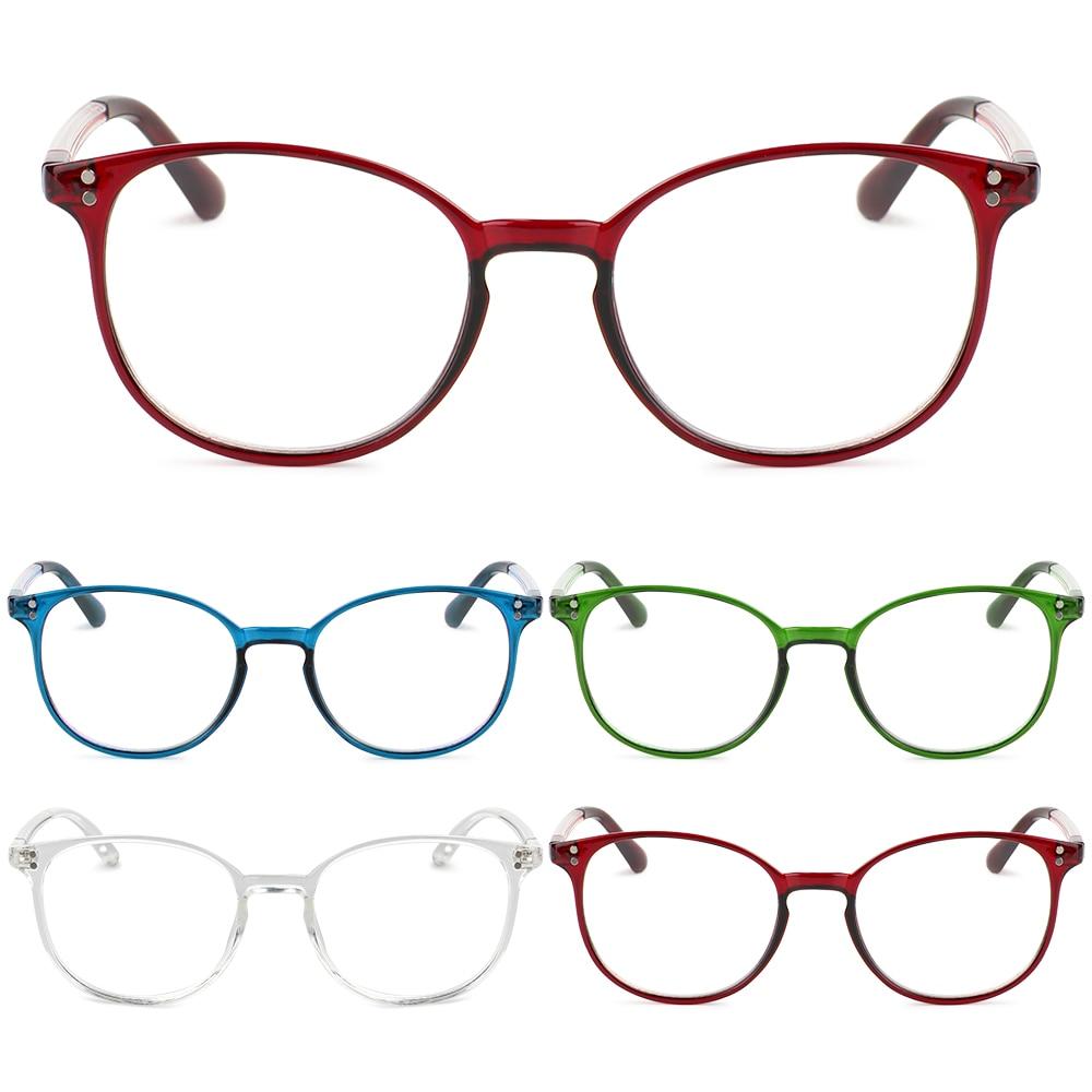 1Pc Unisex Reading Glasses for Women Men Portable Presbyopic Glasses Optical Spectacles Frame Eyeglasses +1.00~+4.00 Dropship