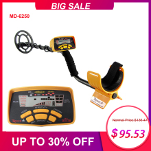 Metal-Detector Coins MD-6250 Professional Underground All-Metal Mode Jewelry High-Performance
