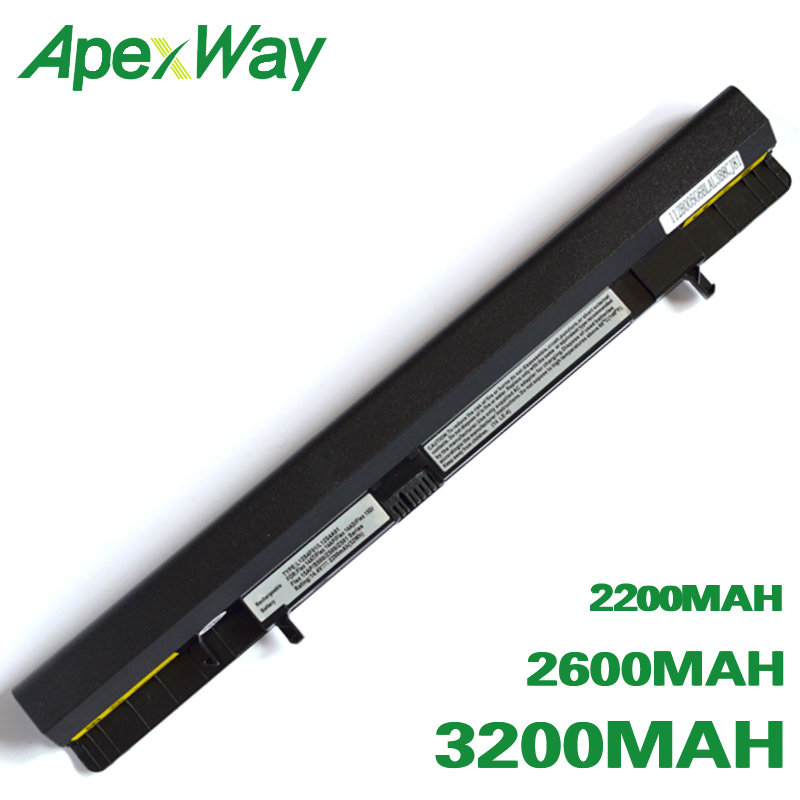 Apexway L12L4A01 Laptop Battery For Lenovo IdeaPad S500 Flex 14 14D 14M 15 15D 15M L12L4K51 L12M4A01 L12M4E51 L12M4K51 L12S4A01